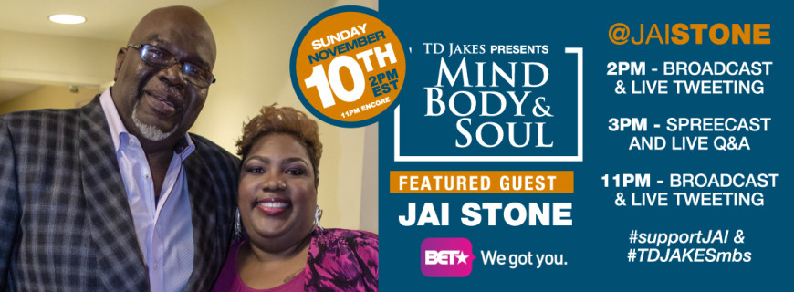 Jai Stone To Appear on BET (NOV 10, 2013)