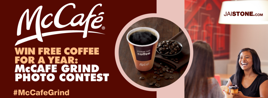 Win Free Coffee For A Year: #McCafeGrind Photo Contest