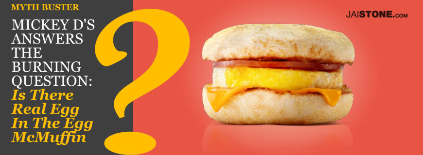 Cracking The Code On The Egg McMuffin: Does McDonald's Use Real Eggs?