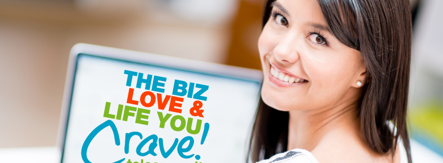 FREE EVENT: Create The Biz, Love & Life You Crave Telesummit (May 3-6, 2015)