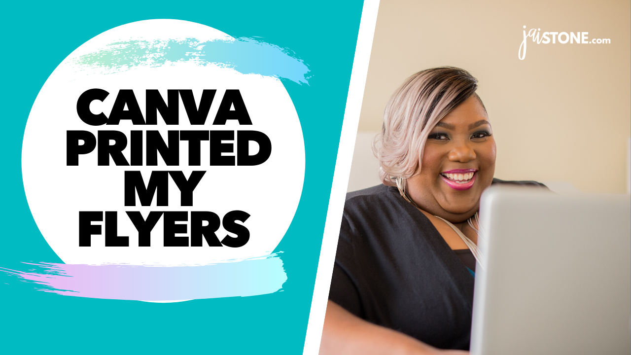 Canva Printed My Flyers (UNBOXING)