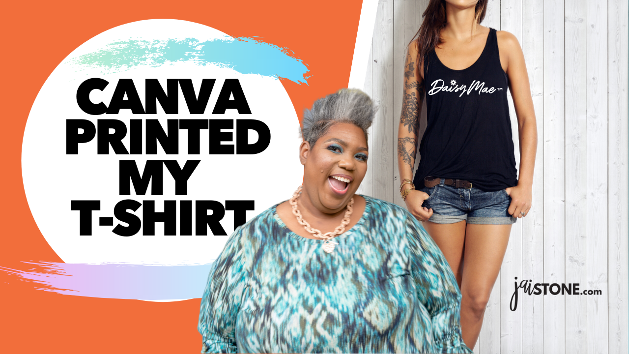 Canva Printed My T-shirt (UNBOXING)